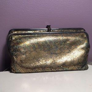 'Lauren' HOBO leather clutch wallet